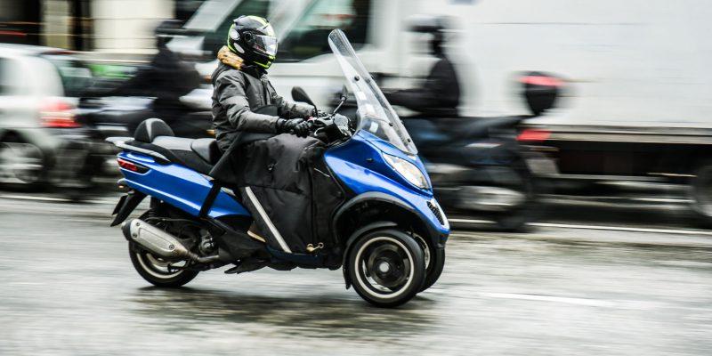 b rijbewijs motorscooter rijden